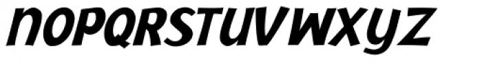 Jacoby Black Italic Font UPPERCASE