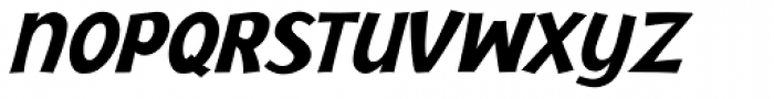Jacoby ICG Black Italic Font UPPERCASE