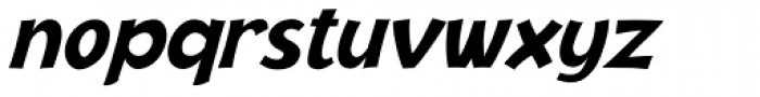 Jacoby ICG Black Italic Font LOWERCASE