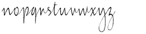 Jacqueline Condensed Font LOWERCASE