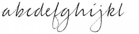 Jacqueline Extended Italic Font LOWERCASE