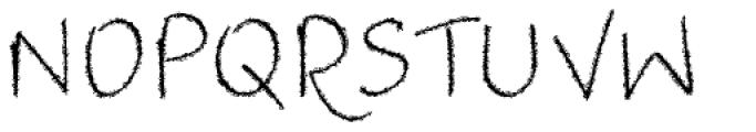 Jacqueline Extended Font UPPERCASE