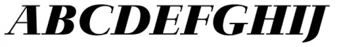Jaeger-Antiqua BQ Bold Italic Font UPPERCASE