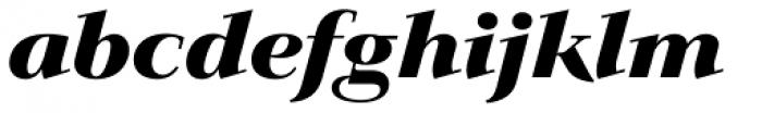 Jaeger-Antiqua BQ Bold Italic Font LOWERCASE