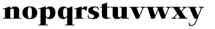 Jaeger-Antiqua BQ Bold Font LOWERCASE
