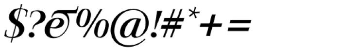 Jaeger-Antiqua BQ Italic Font OTHER CHARS