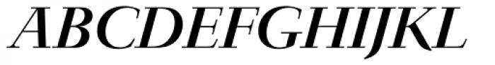 Jaeger-Antiqua BQ Italic Font UPPERCASE