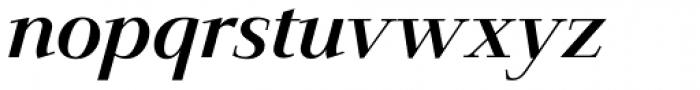 Jaeger-Antiqua BQ Italic Font LOWERCASE