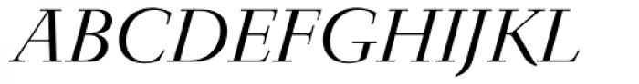 Jaeger-Antiqua BQ Light Italic Font UPPERCASE