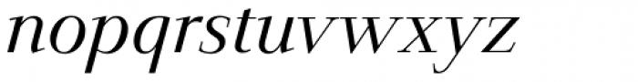 Jaeger-Antiqua BQ Light Italic Font LOWERCASE