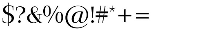 Jaeger-Antiqua BQ Light Font OTHER CHARS