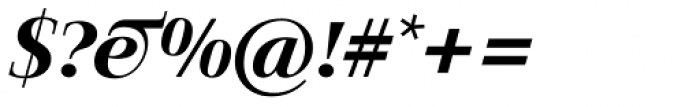 Jaeger-Antiqua BQ Medium Italic Font OTHER CHARS