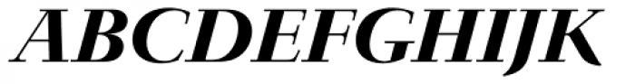 Jaeger-Antiqua BQ Medium Italic Font UPPERCASE