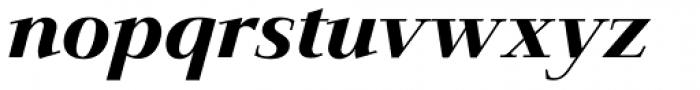 Jaeger-Antiqua BQ Medium Italic Font LOWERCASE