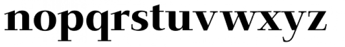 Jaeger-Antiqua BQ Medium Font LOWERCASE