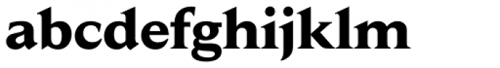 Jaeger Daily News Bold Font LOWERCASE