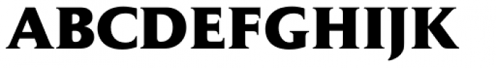 Jaeger Daily News ExtraBold Font UPPERCASE