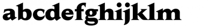 Jaeger Daily News ExtraBold Font LOWERCASE
