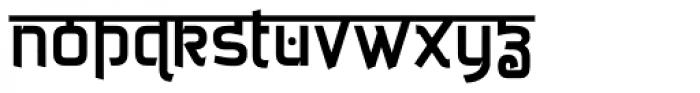 Jaipur Font LOWERCASE