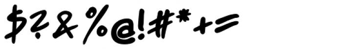 Jakob ExtraBold Font OTHER CHARS