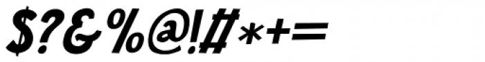 Jalebi Italic Font OTHER CHARS