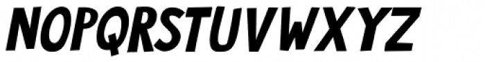Jalebi Italic Font UPPERCASE