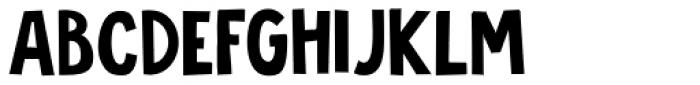 Jalebi Font UPPERCASE