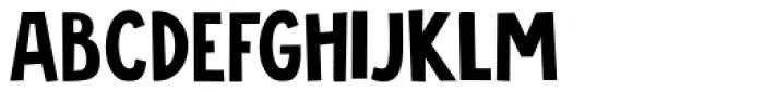 Jalebi Font LOWERCASE