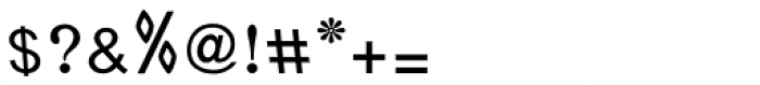Jalil Kashida Condensed Font OTHER CHARS