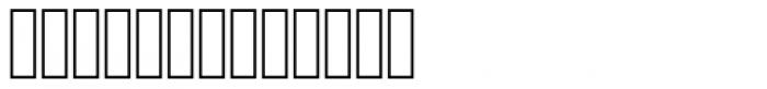 Jalil Kashida Condensed Font LOWERCASE