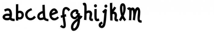Jalo Font LOWERCASE