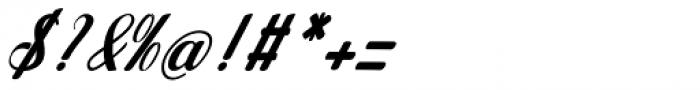 Jamilah Italic Font OTHER CHARS