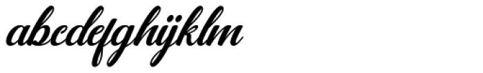 Jamilah Italic Font LOWERCASE