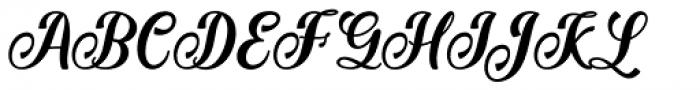 Jamilah Regular Font UPPERCASE