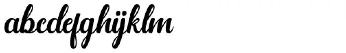 Jamilah Regular Font LOWERCASE
