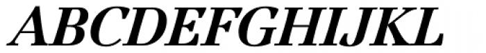 Jamille Std Black Italic Font UPPERCASE