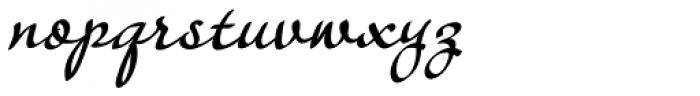 Janagrace Swash Font LOWERCASE