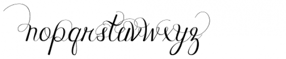 Janda Celebration Script Font LOWERCASE