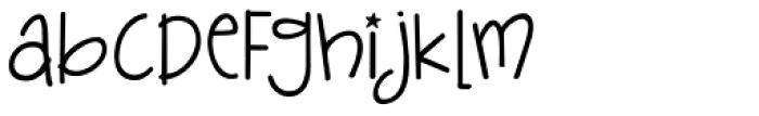 Janda Silly Monkey Font LOWERCASE