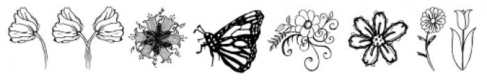 Janda Spring Doodles Font LOWERCASE