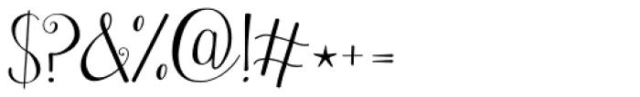 Janda Stylish Monogram Font OTHER CHARS