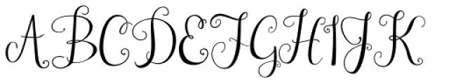 Janda Stylish Monogram Font UPPERCASE