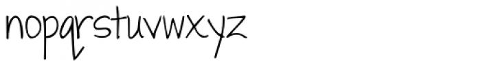 Janda Swirly Twirly Font LOWERCASE