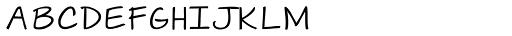 Janda Swirlygirl Font LOWERCASE
