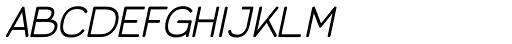 Jane Light Italic Font UPPERCASE