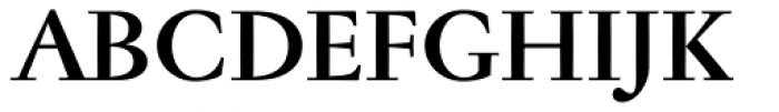 Jannon Antiqua Bold Font UPPERCASE