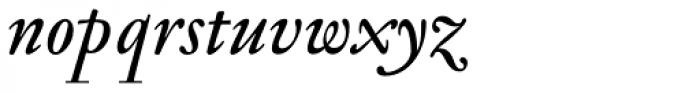 Jannon Antiqua Medium Italic Font LOWERCASE
