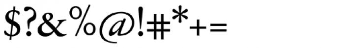 Jannon Antiqua Medium Font OTHER CHARS