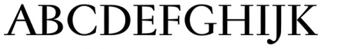 Jannon Antiqua Medium Font UPPERCASE