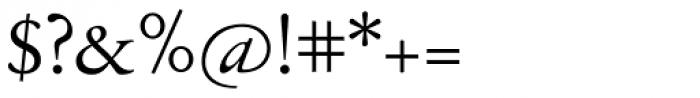 Jannon Antiqua Font OTHER CHARS
